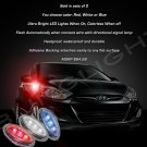 Hyundai Solaris LED Side Marker Turnsignal Lights Lamps Turn Signal Signalers Markers Blinkers