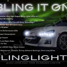 Subaru BRZ LED DRL Light Strips for Headlamps Headlights Head Lamps Day Time Running Lights