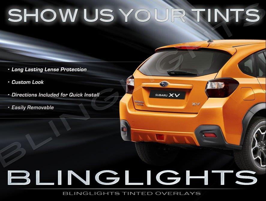 Subaru Xv Crosstrek Tinted Smoked Taillamps Taillights