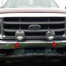 Ford Super Duty Off Road Bumper Brush Bar Auxiliary Lamps Superduty Driving Lights Kit