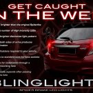 Toyota Vitz Custom LED Taillights Taillamps Tail Lamps Replacement Light Bulbs