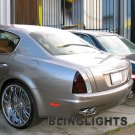 Maserati Quattroporte Tinted Smoked Taillamps Taillights Overlays Film Protection