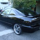 Acura Integra Tinted Smoked Taillamp Taillight Overlays Film Protection