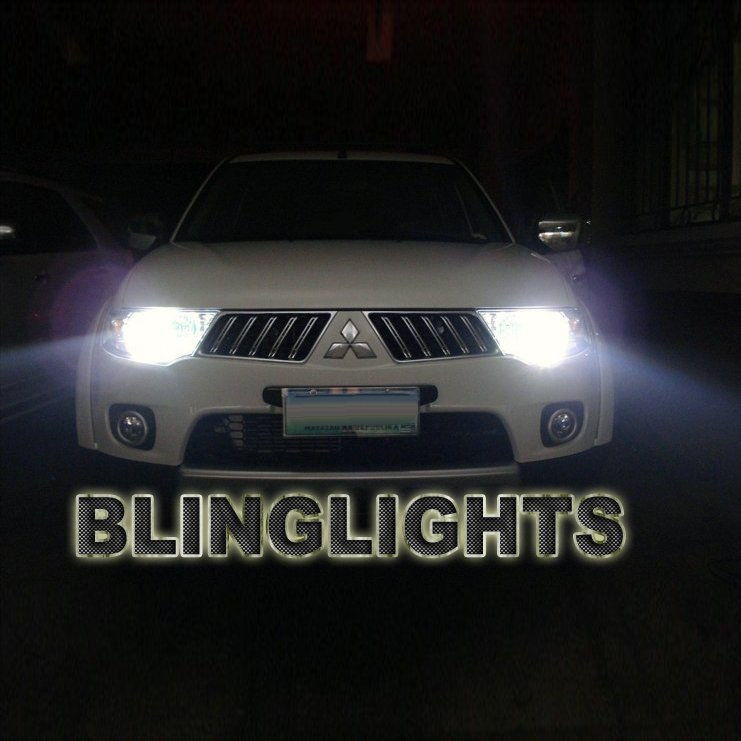 Mitsubishi Montero Sport Bright White Light Bulbs for Headlamps Headlights Head Lamps Lights