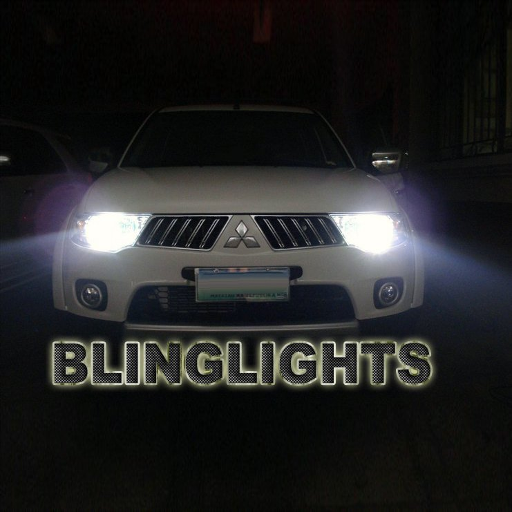 Mitsubishi Pajero Sport Bright White Light Bulbs for Headlamps Headlights Head Lamps Lights