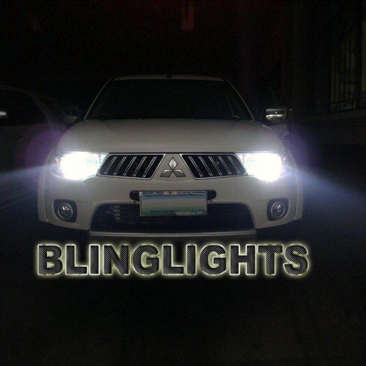 Mitsubishi Pajero Sport Bright White Light Bulbs for Headlamps Headlights Head Lamps Lights