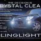 2007-2013 Mitsubishi Pajero Dakar Fog Lamps Lights Kit LED Foglamps Foglights Drivinglights