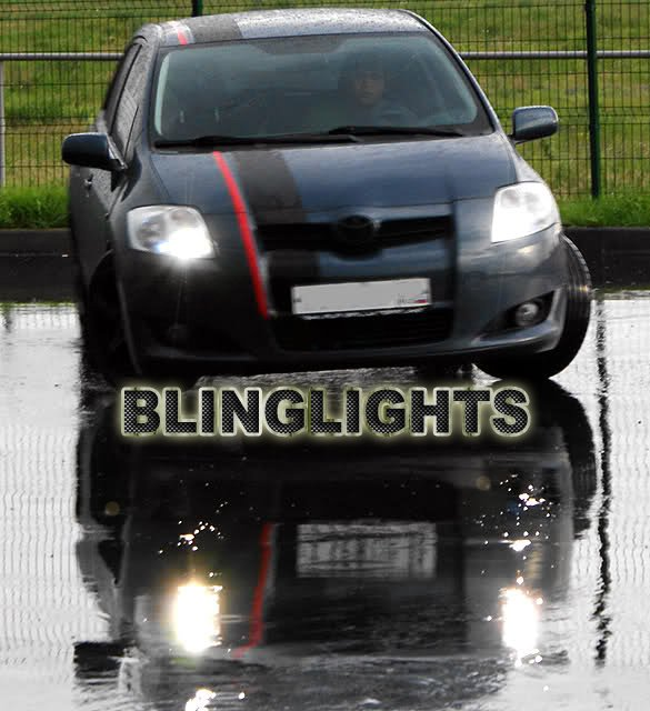 Toyota Auris Bright White Replacement Light Bulbs for Headlamps Headlights Upgrade