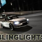Mazda Miata MX-5 MX5 Bright Headlamp Headlight Bright White Upgrade Replacement Light Bulbs