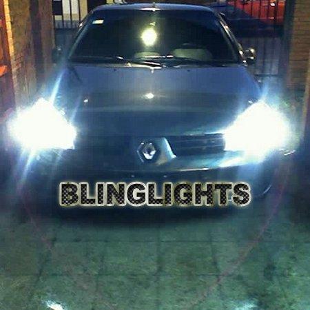 Renault Clio Bright White Headlamp Headlight Head Lamp Upgrade Replacement Light Bulbs