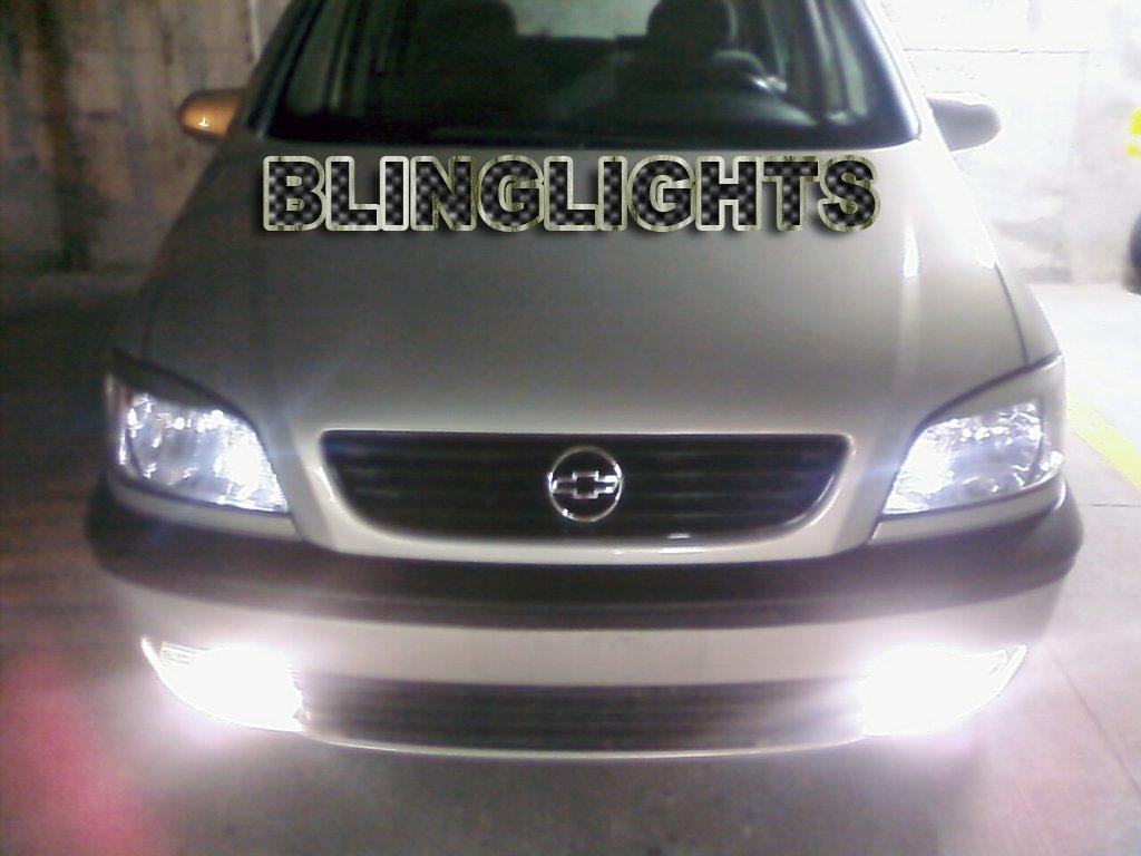 Vauxhall Zafira A Xenon Fog Lamps Driving Lights Foglamps Foglights Kit