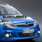 Chevrolet Chevy Zafira B Xenon Fog Lamps Driving Lights Foglamps Foglights Kit