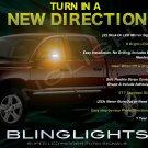 Mitsubishi Raider LED Side View Mirror Turnsignals Lights Mirrors Turn Signals Lamps Signalers Set