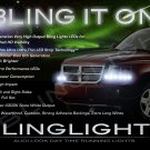 Mitsubishi Raider LED DRL Light Strips Headlamps Headlights Day Time Running Lamps Strip Lights