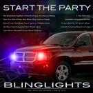 Mitsubishi Raider Strobe Light Kit for Headlamps Headlights Head Lamps Lights Police Strobes