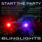Nissan Qashqai Strobe Light Kit for Headlamps Headlights Head Lamps Lights Police Strobes