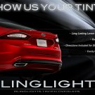 Ford Mondeo Tinted Tail Lamp Overlays Smoked Lights Kit Protection Film
