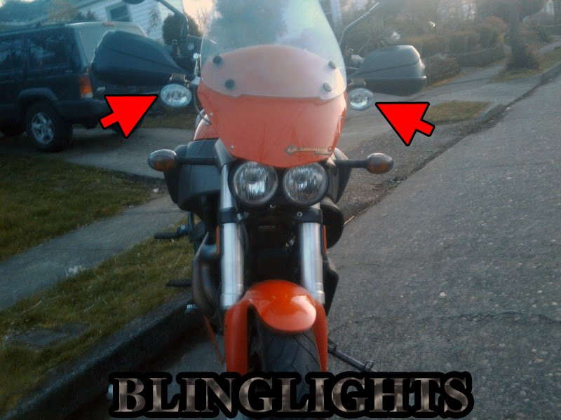 Buell Ulysses XB12XT Xenon Driving Lights Fog Lamps Drivinglights Foglamps Foglights Kit