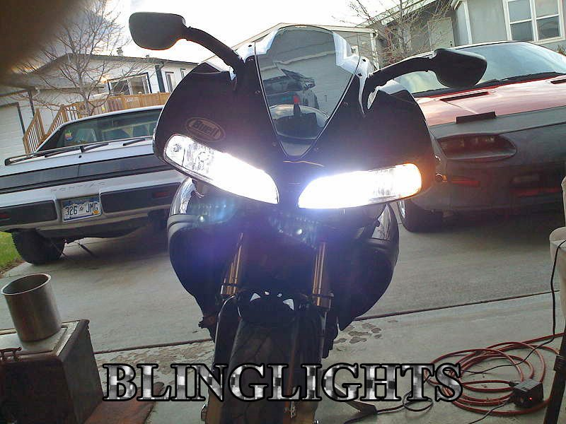 Buell 1125R Xenon 55 Watt HID Conversion Kit for Headlamps Headlights Head Lamps Lights Upgrade