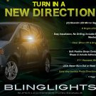 Mitsubishi Colt LED Side Mirrors Accent Turnsignals Lights Turn Signals Lamps Signalers