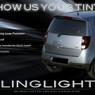 Mitsubishi Colt Tinted Smoked Taillamps Taillights Overlays Protection Film
