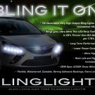 Vauxhall Zafira Tourer LED DRL Light Strips Headlamps Headlights Day Time Running Lamps