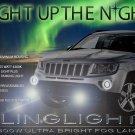 2011 2012 2013 Jeep Compass Xenon Fog Lamps Driving Lights Foglamps Foglights Kit