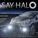 Renault Wind Halo Fog Lamps Angel Eye Driving Lights Foglamps Foglights Drivinglights Kit