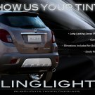 Opel Mokka Tinted Smoked Taillamps Taillights Overlays Film Protection