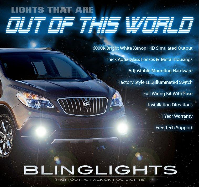 2013 2014 Vauxhall Mokka Xenon Fog Lamps Driving Lights