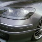 Acura RL Smoked Tinted Headlights Headlamps Overlays Film Protection