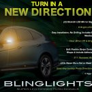 Honda Crosstour LED Side View Mirrors Turnsignals Lights Turn Signalers Lamps Set