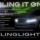 Honda Crosstour LED Light Strips Day Time Running Lamps DRLs for Headlamps Headlights