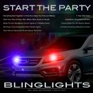Honda Crosstour Police Strobes Headlamp Headlight Show Strobe Kit