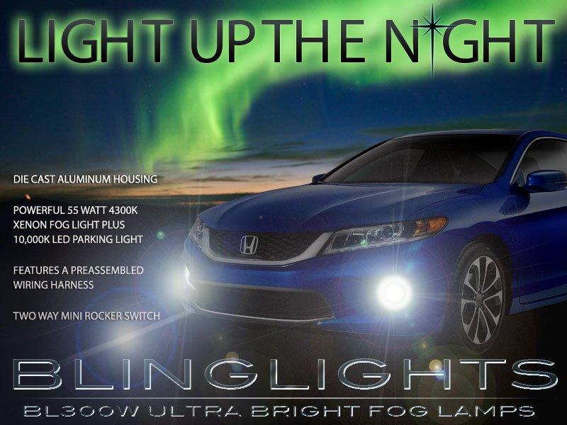2013 2014 Honda Accord Coupe Xenon Foglamp Drivinglights Fog Lamps Driving Lights Kit