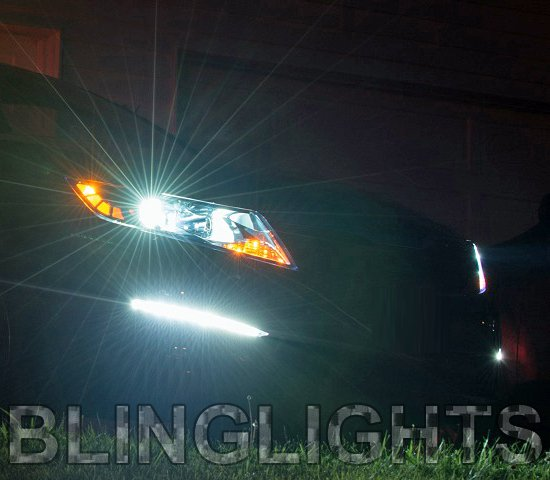 Kia Optima K5 Bright White Headlamps Head Lights Bulbs Halogen 4750K Upgrade