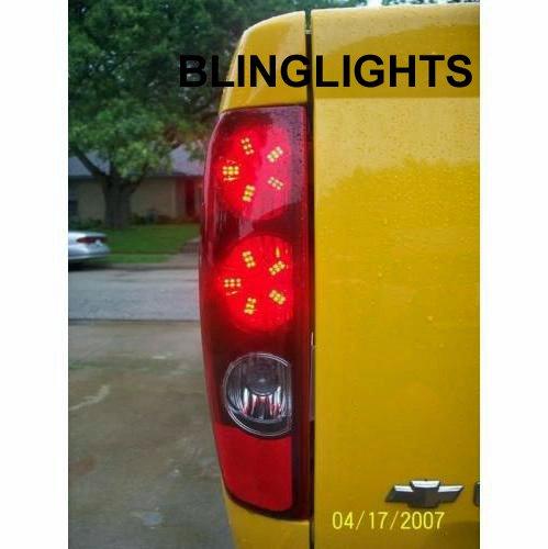 Chevy S-10 Custom LED Taillamp Spider Light Bulbs Chevrolet S10 Pair