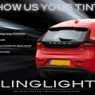 Volvo V40 Tinted Smoked Taillamps Taillights Overlays Film Protection