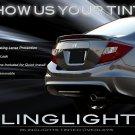 2012+ Honda Civic Si Smoked Tail Light Covers Lamp FB Tint Overlays