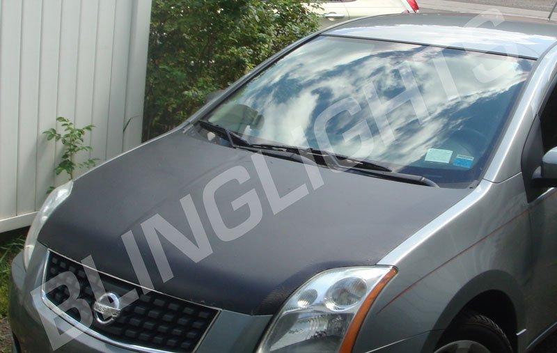 Nissan Altima Carbon Fiber Hood Overlay Body Film Kit Carbonfiber