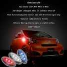 Scion iQ LED Side Markers Turnsignal Lights Accent Lamps Turn Signals Safety Signalers Set
