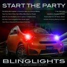 Scion iQ Strobe Lights Lamps DJ LED Custom Lighting Kit