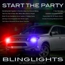 Mitsubishi Outlander Strobe Light Kit for Headlamps Headlights Head Lamps Lights Sport Police