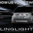 Mitsubishi Outlander Tail Lamp Light Tinted Overlay Kit Smoked Protection Film