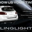 Nissan Rogue Tinted Tail Lamps Lights Overlays Film Kit Smoked Protection