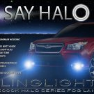 2014 2015 2016 Subaru Forester Halo Fog Lamps Angel Eye Lights Kit