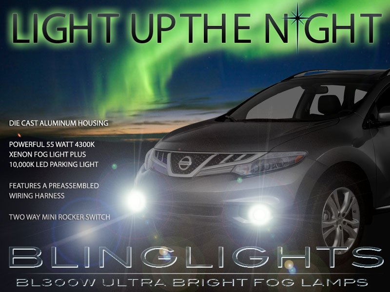 2011-2014 Nissan Murano Driving Lights Fog Lamps z51
