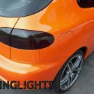 Daewoo Lanos Tinted Tail Lights Lamp Overlays Kit Smoked Film Protection