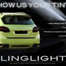 Porsche Cayenne Tinted Tail Lamps Light Smoked Overlays Film Protection Kit