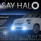 Fiat 500L Halo Fog Lamps Angel Eye Driving Lights Kit Foglamps Foglights Drivinglights